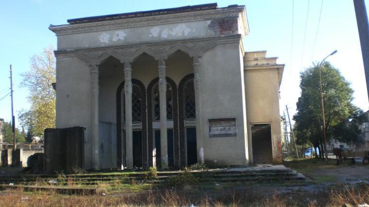 Teateret i Gali, hvor tiden har blitt borte.
