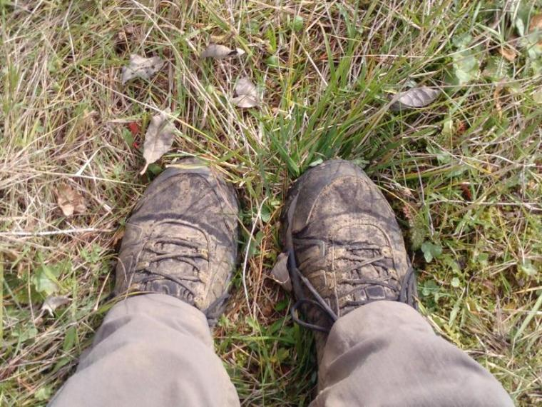 Skitne sko, ren natur :)