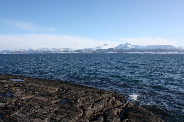 Saltenfjorden og Børvasstindan