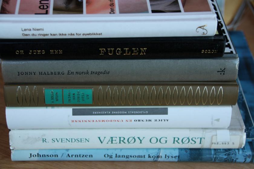 Sommerens leseopplevelser. Noen av dem.